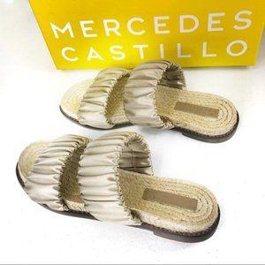 Mercedes Castillo Espadrille Sandal Grey Size 7/37